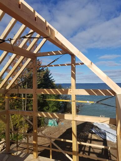 Construction Financing Normerica Timber Frame Homes New Construction Photos Lake View