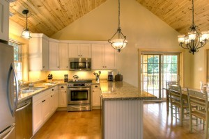 Cottage Home Plans Kitchen