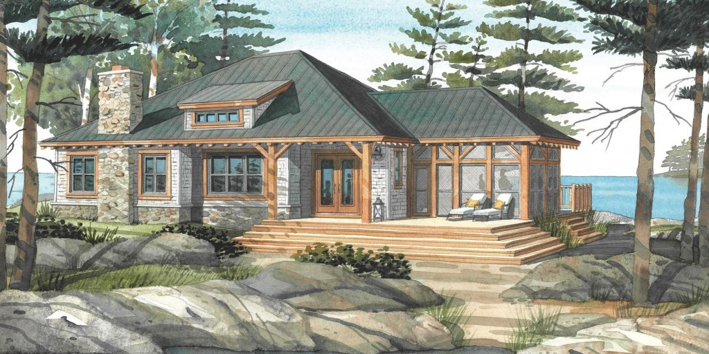 Cottage Home Plan Baril 3514 1024x512