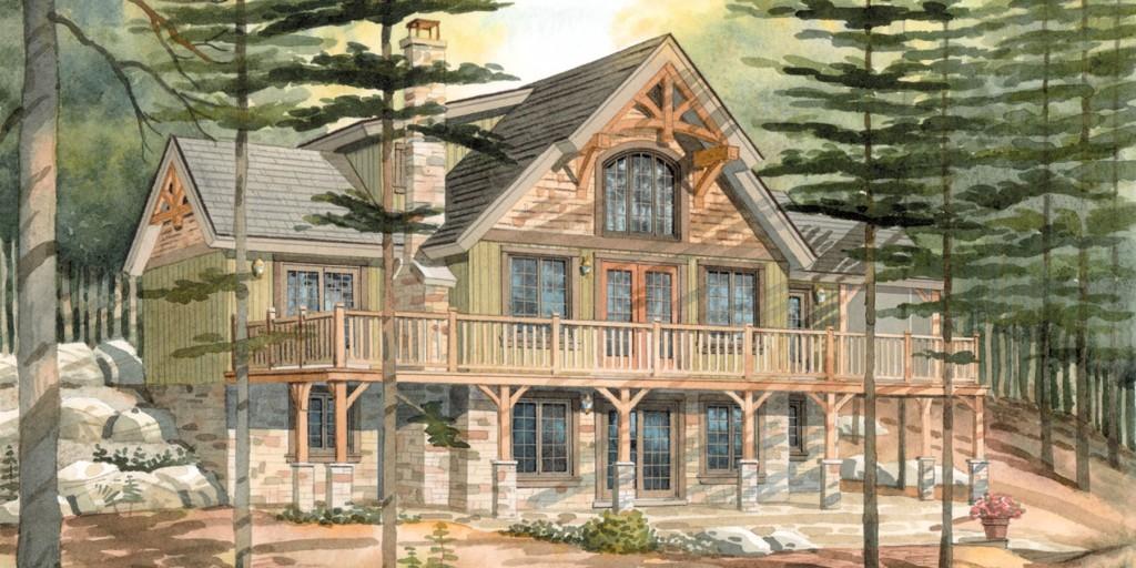 Top 10 Normerica Custom Timber Frame Home Designs: Carleton