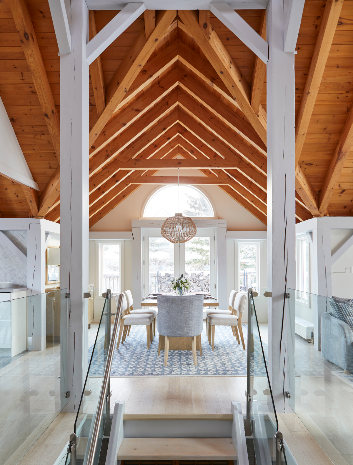 The Final Reveal A Normerica Contemporary Chalet Gets A Design Makeover by Sarah Richardson