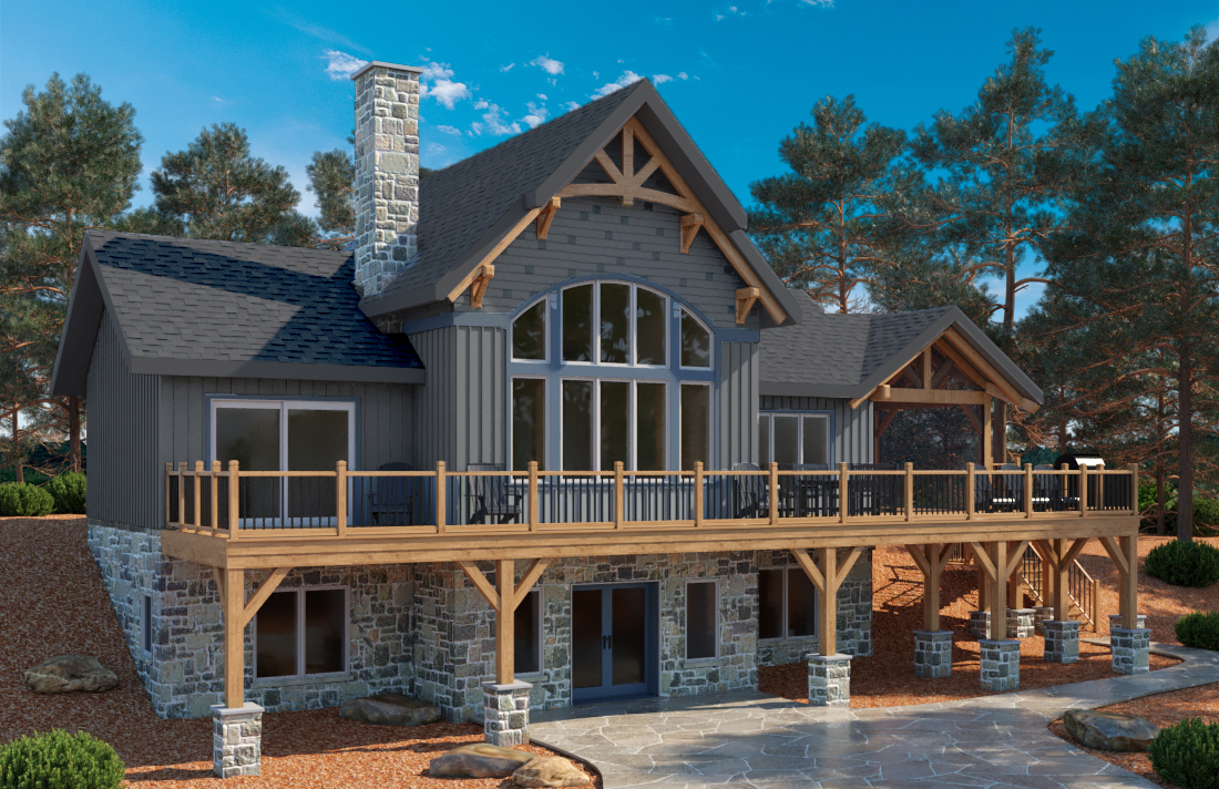 Thinking of Building a Timber Frame Home? Here is a special offer for you!