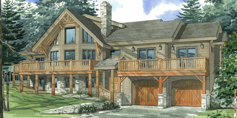 Top 10 Normerica Custom Timber Frame Home Designs: The Appeal of the Prow
