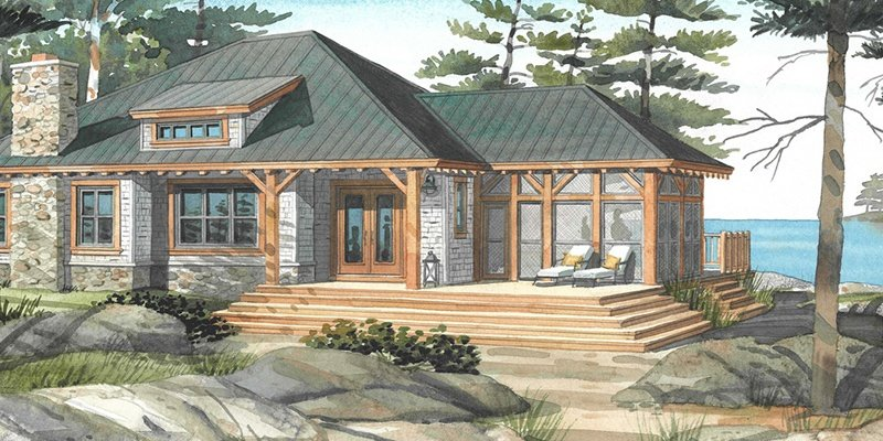Top 10 Normerica Custom Timber Frame Home Designs: The Beauty of the Bungalow